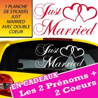 Planche Just Married