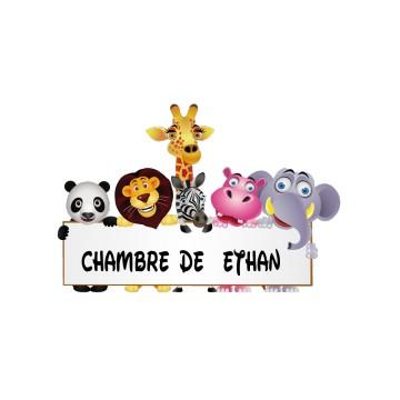 stickers Porte Animaux personnalisé