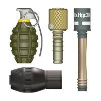 Planche de Grenades - 2