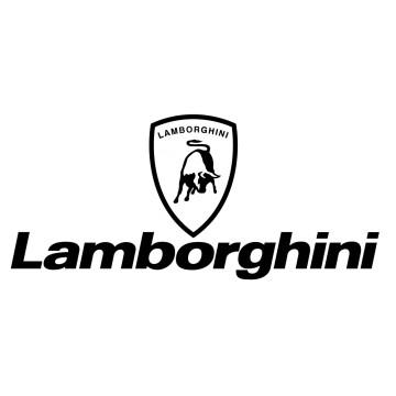 Sticker Logo Lamborghini