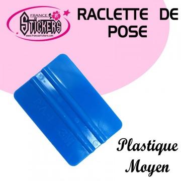 Raclette de pose bleu pour Stickers et Autocollants