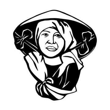stickers Femme Asiatique 1