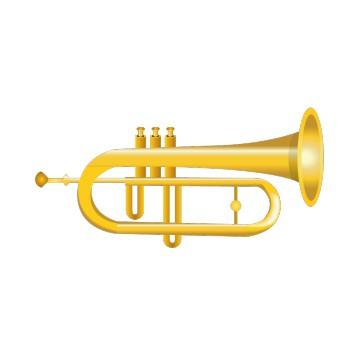 Stickers Trompette 2