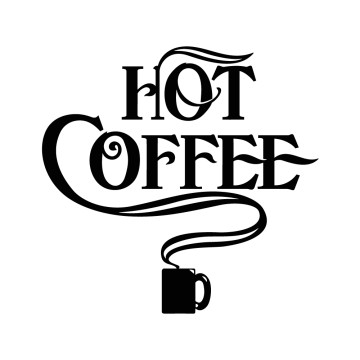 Stickers Hot Coffee