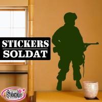 Stickers Autocollants Soldat 3