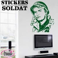 Stickers Autocollants Soldat 4