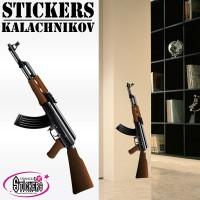Stickers Autocollants Kalachnikov 1