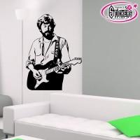 Stickers Autocollants Guitariste 2