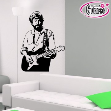 stickers Guitariste 2