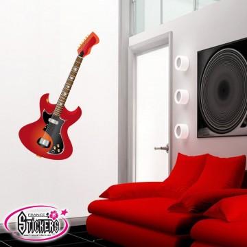 Stickers Guitare Électrique 4