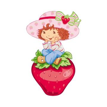 Stickers Charlotte aux fraises