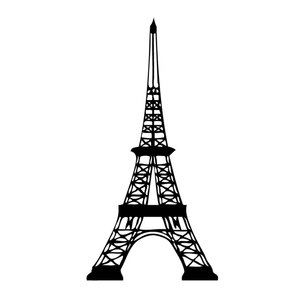 Stickers tour eiffel france stickers for Stickers tour eiffel chambre