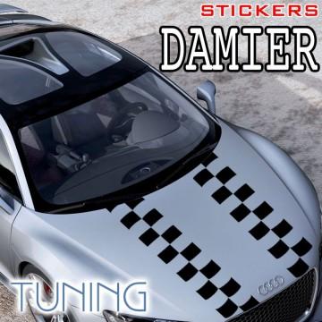 Stickers Tuning Damier std11  vendu par 2