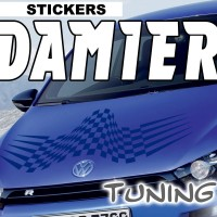Stickers Tuning Damier 15