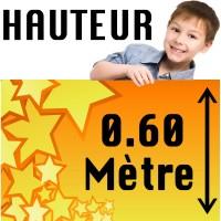 Banderole Publicitaire - Bâche PVC Eco 0.60M de Haut