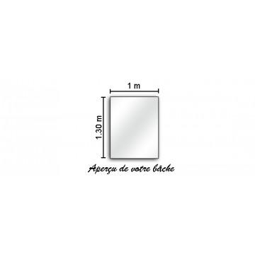 Banderole - Bâche Premium PVC 1.3M de Haut