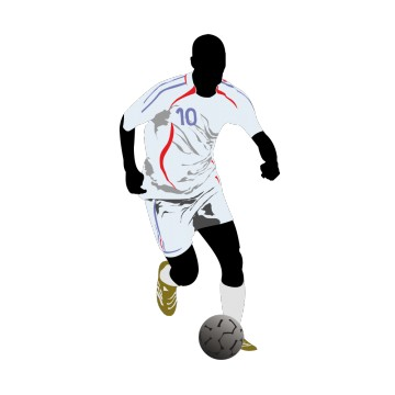 Stickers Footballeur  2