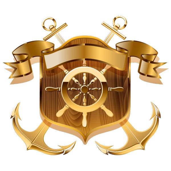 Stickers ancre marine de bateau pas cher france stickers - Dessin ancre bateau ...