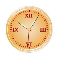 Stickers Horloge 2
