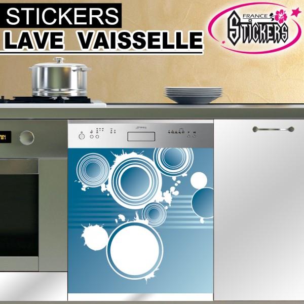 stickers lave vaisselle ann e 70 pas cher france. Black Bedroom Furniture Sets. Home Design Ideas