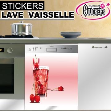 Stickers Lave Vaisselle Cocktail