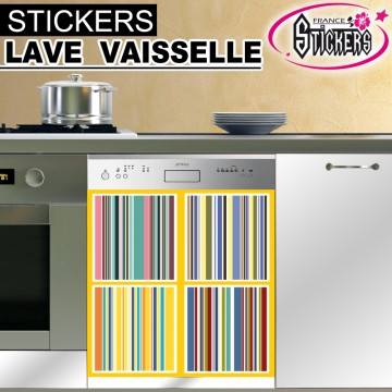 stickers lave vaisselle r tro france stickers. Black Bedroom Furniture Sets. Home Design Ideas