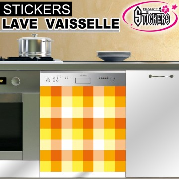 stickers lave vaisselle ann e 70 france stickers. Black Bedroom Furniture Sets. Home Design Ideas