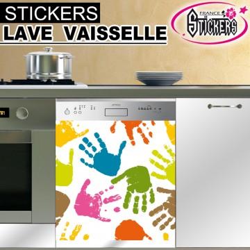 Stickers Lave Vaisselle Mains