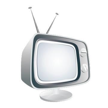 Stickers télévision Rétro