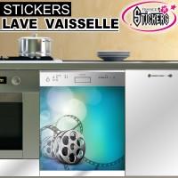 Stickers Lave Vaisselle Cinéma  1