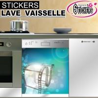 Stickers Lave Vaisselle Cinéma  2