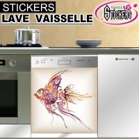 Stickers Lave Vaisselle Poisson 1
