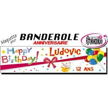 Maquette Pour Banderole Anniversaire M0004fs2011