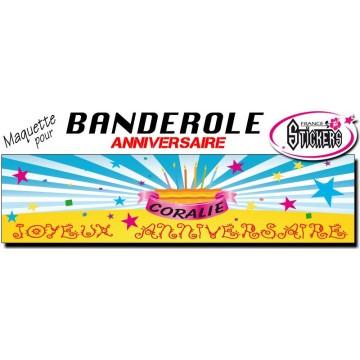 Maquette Pour Banderole Anniversaire M0005fs2011