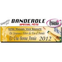 Banderole Bonne Année (Maquette M0008FS2011)