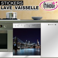 Stickers Lave Vaisselle New York 1