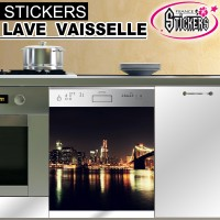 Stickers Lave Vaisselle New York 3