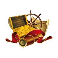 Stickers Coffre de Pirate 3