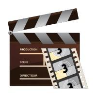Stickers Clap de cinéma 2