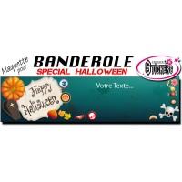 Banderole Holloween Personnalisée (Maquette M0038FS2012)