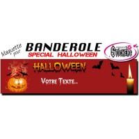 Banderole Holloween Personnalisée (Maquette M0041FS2012)