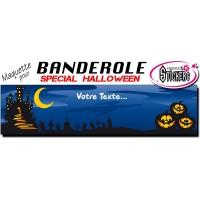 Banderole Halloween Personnalisée (Maquette M0050FS2012)