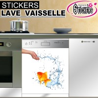 Stickers Lave Vaisselle Poisson 2