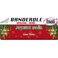Banderole Noel - Joyeux Noël (Maquette M0060FS2012)