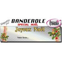 Banderole Noel - Joyeux Noël (Maquette M0061FS2012)