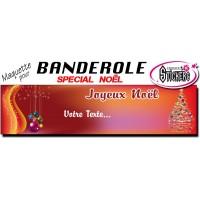 Banderole Noel - Joyeux Noël (Maquette M0064FS2012)
