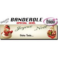 Banderole Noel - Joyeux Noël (Maquette M0066FS2012)