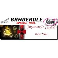 Banderole Noel - Joyeux Noël (Maquette M0070FS2012)