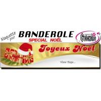 Banderole Noel - Joyeux Noël (Maquette M0074FS2012)