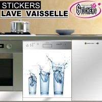 Stickers Lave Vaisselle 3 Verres